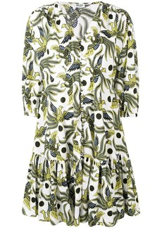 Kenzo bird print dress
