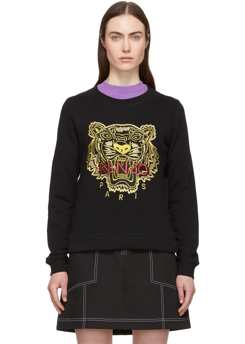 Kenzo Black & Red Tiger Sweatshirt