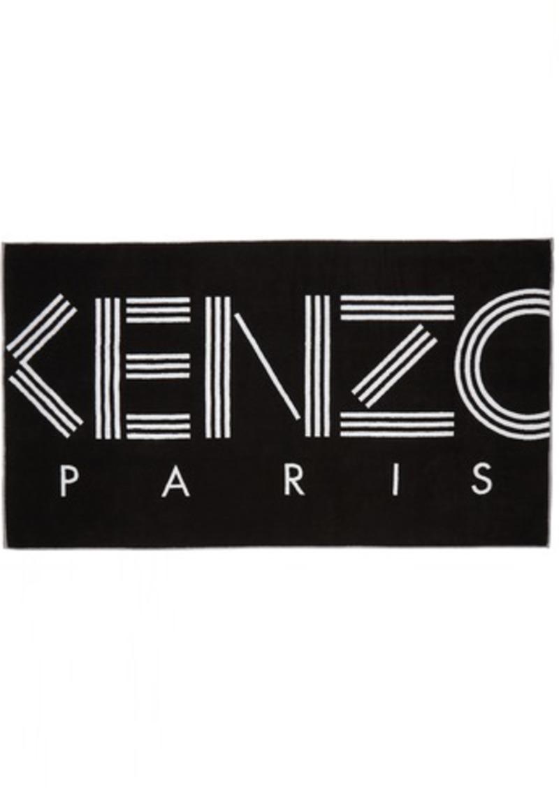 Kenzo Black K Sport Beach Towel