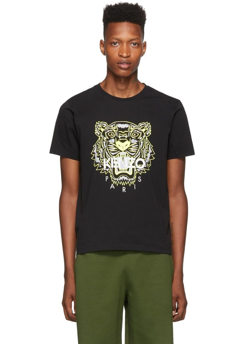 Kenzo Black Limited Edition High Summer Tiger T-Shirt