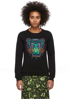 Kenzo Black Limited Edition Holiday Classic Tiger Sweatshirt