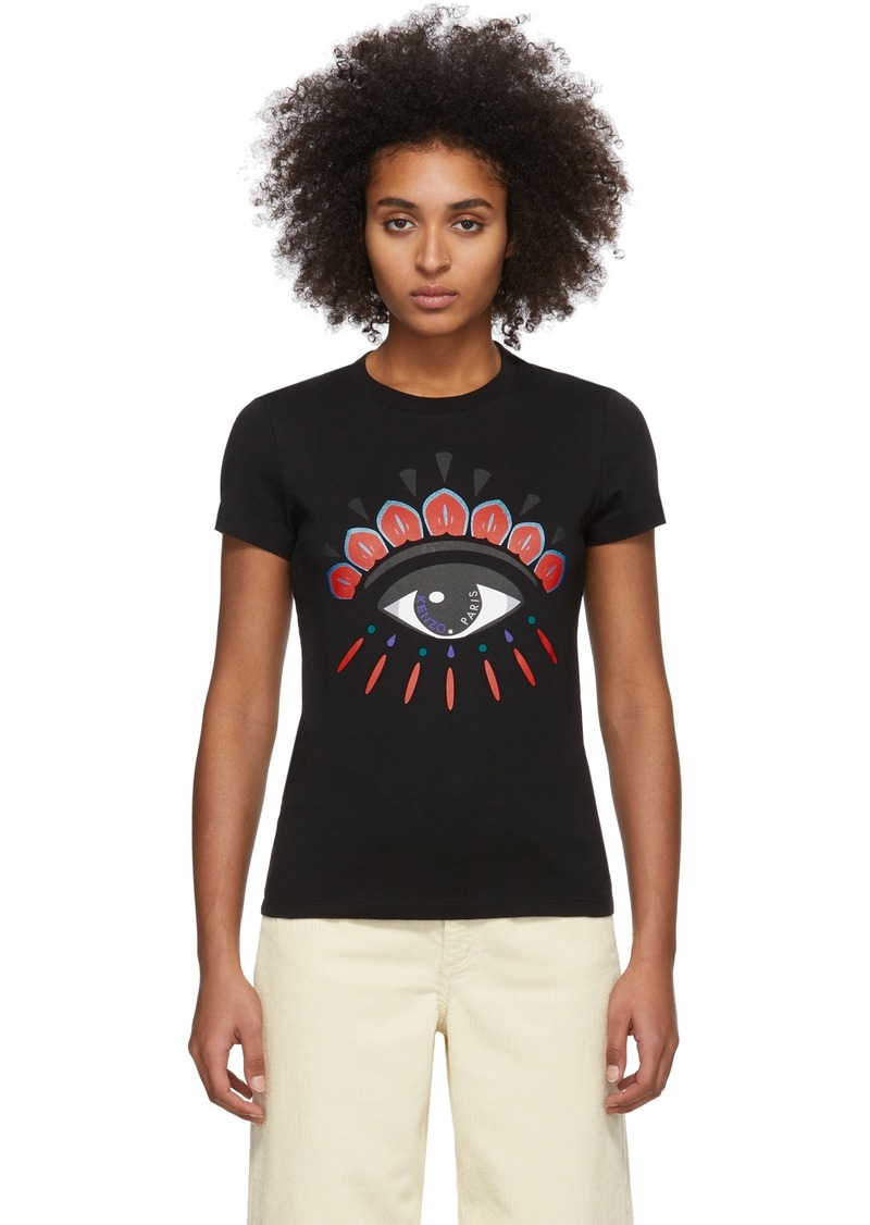 Kenzo Black Limited Edition Holiday Eye T-Shirt