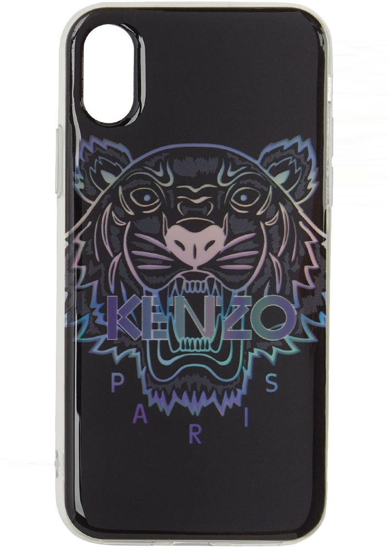 Kenzo Black Limited Edition Holiday Tiger iPhone XS Max Case