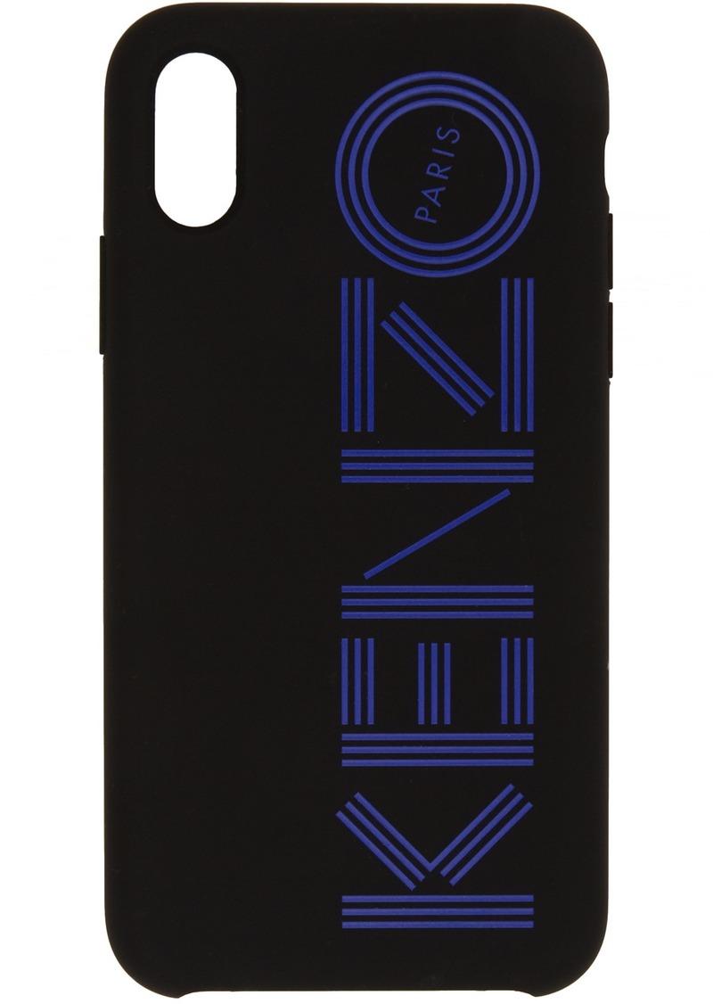 Kenzo Black Logo iPhone X/XS Case