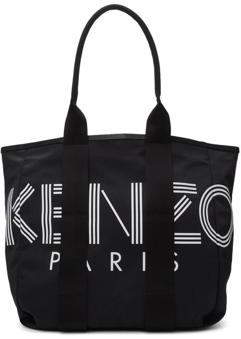 Kenzo Black Logo Tote