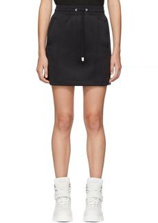 Kenzo Black Sport Jog Miniskirt