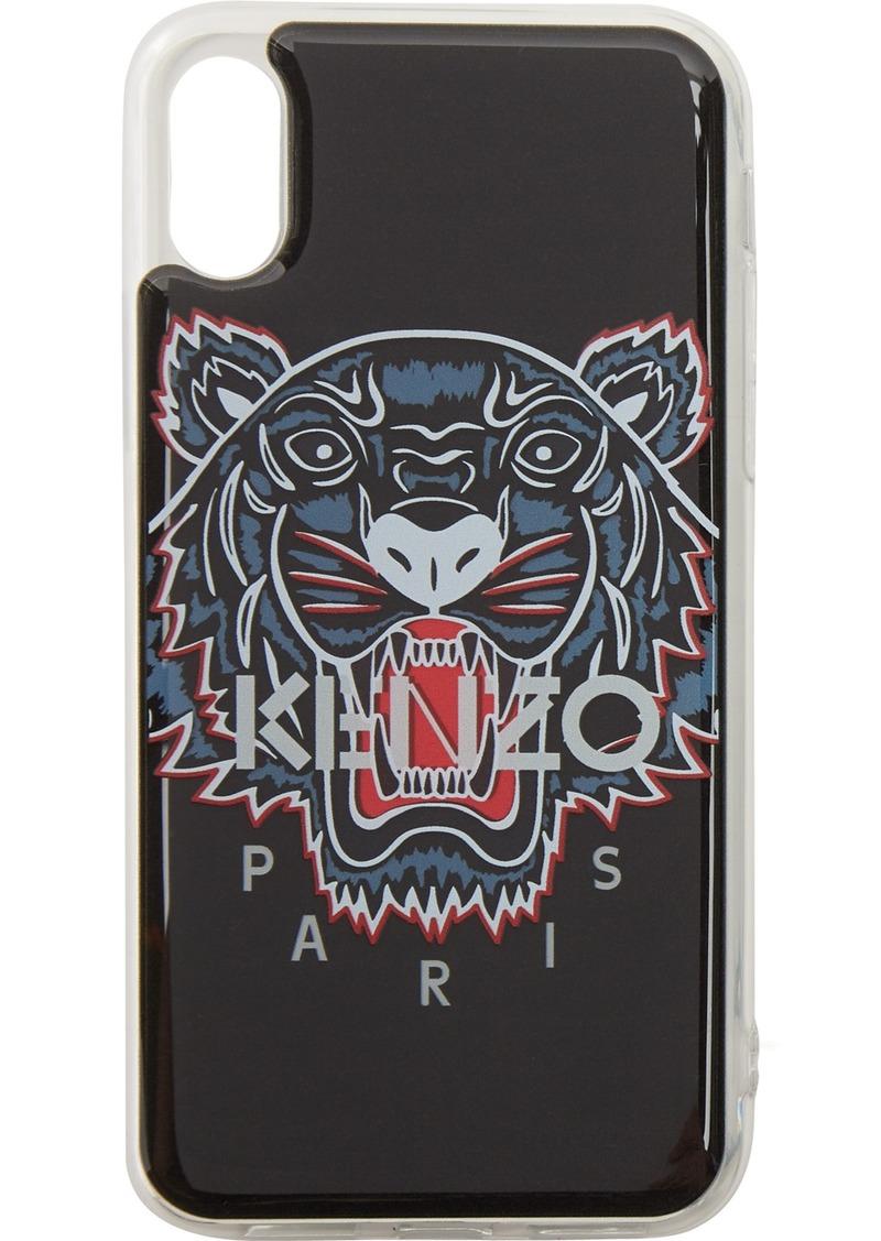 Kenzo Black Tiger Head iPhone X/XS Case