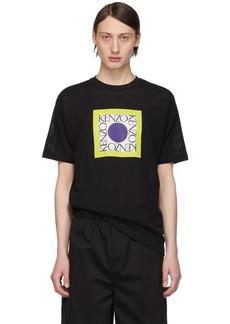 Kenzo Black Waffle Straight T-Shirt