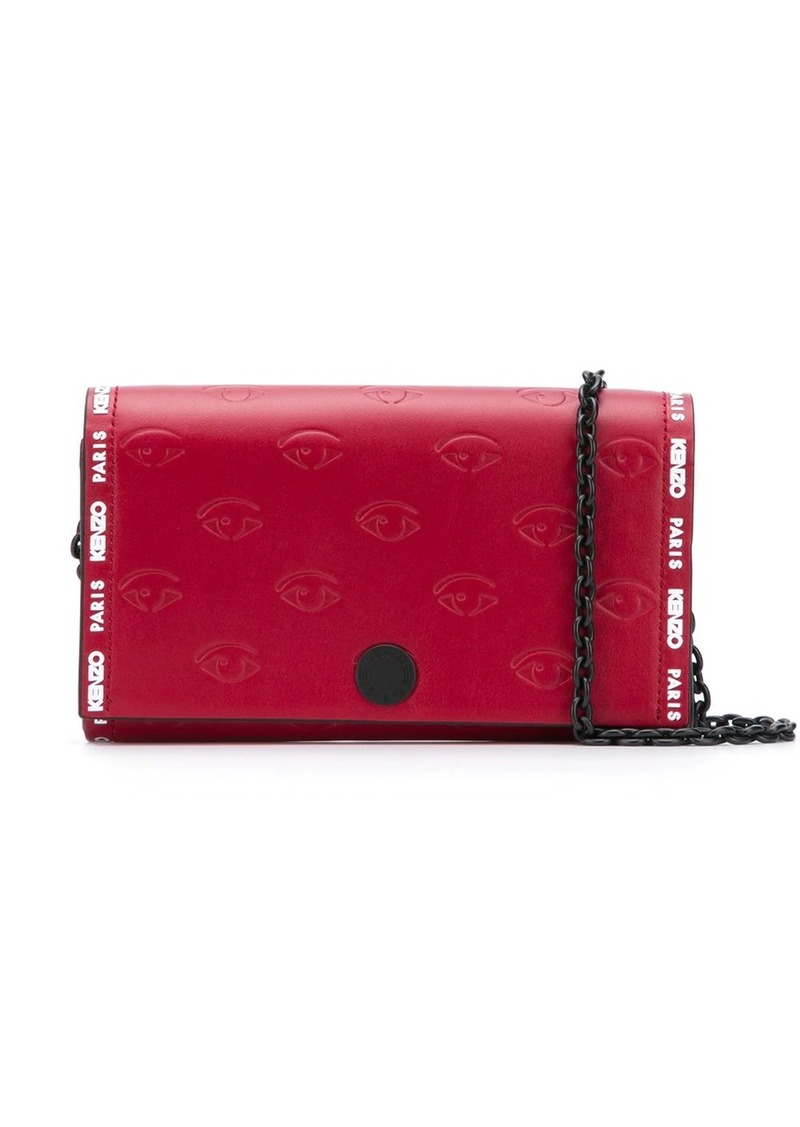 Kenzo Blink Eye chain wallet