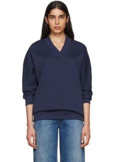 Kenzo Blue Limited Edition Logo Sweatshirt
