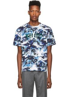 Kenzo Blue Paris Straight T-Shirt