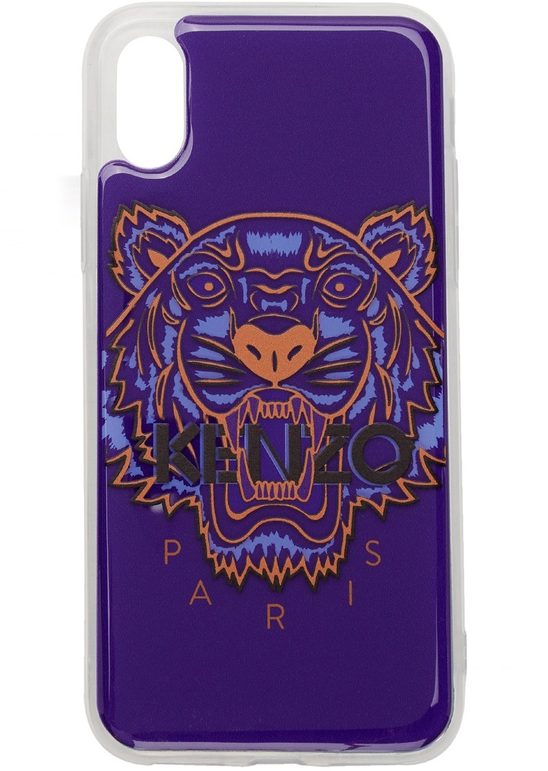 Kenzo Blue Tiger iPhone X/XS Case