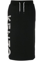 Kenzo branded casual pencil skirt