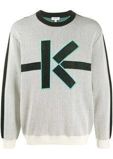 Kenzo rib-knit logo jumper