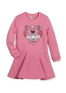 Kenzo Bubble Tiger Sweater Dress  Size 14-16