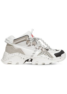 Kenzo Chunky Low Top Leather Sneakers