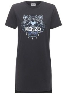 Kenzo Classic Tiger Cotton T-shirt Dress