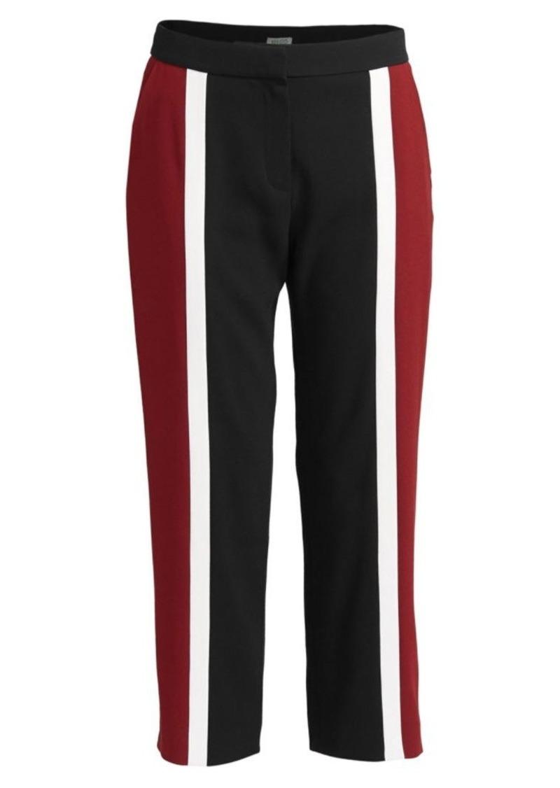 Kenzo Colorblock Cropped Slim Pants
