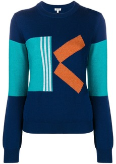 Kenzo colourblock K sweater