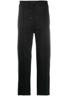 Kenzo contrast logo track pants