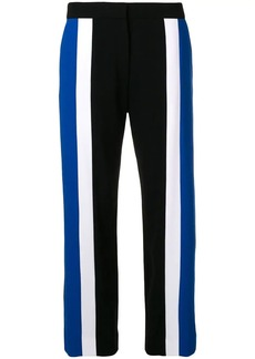 Kenzo contrast panelled cropped trousers