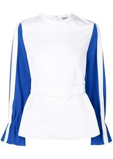 Kenzo contrast sleeve top