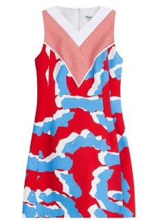 Kenzo Cotton-Jersey Printed Dress