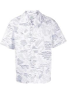 Kenzo cotton short-sleeve shirt