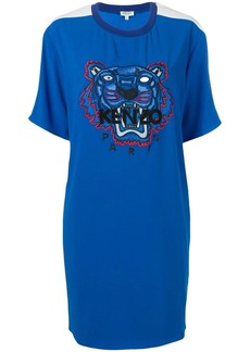 Kenzo crepe Tiger dress