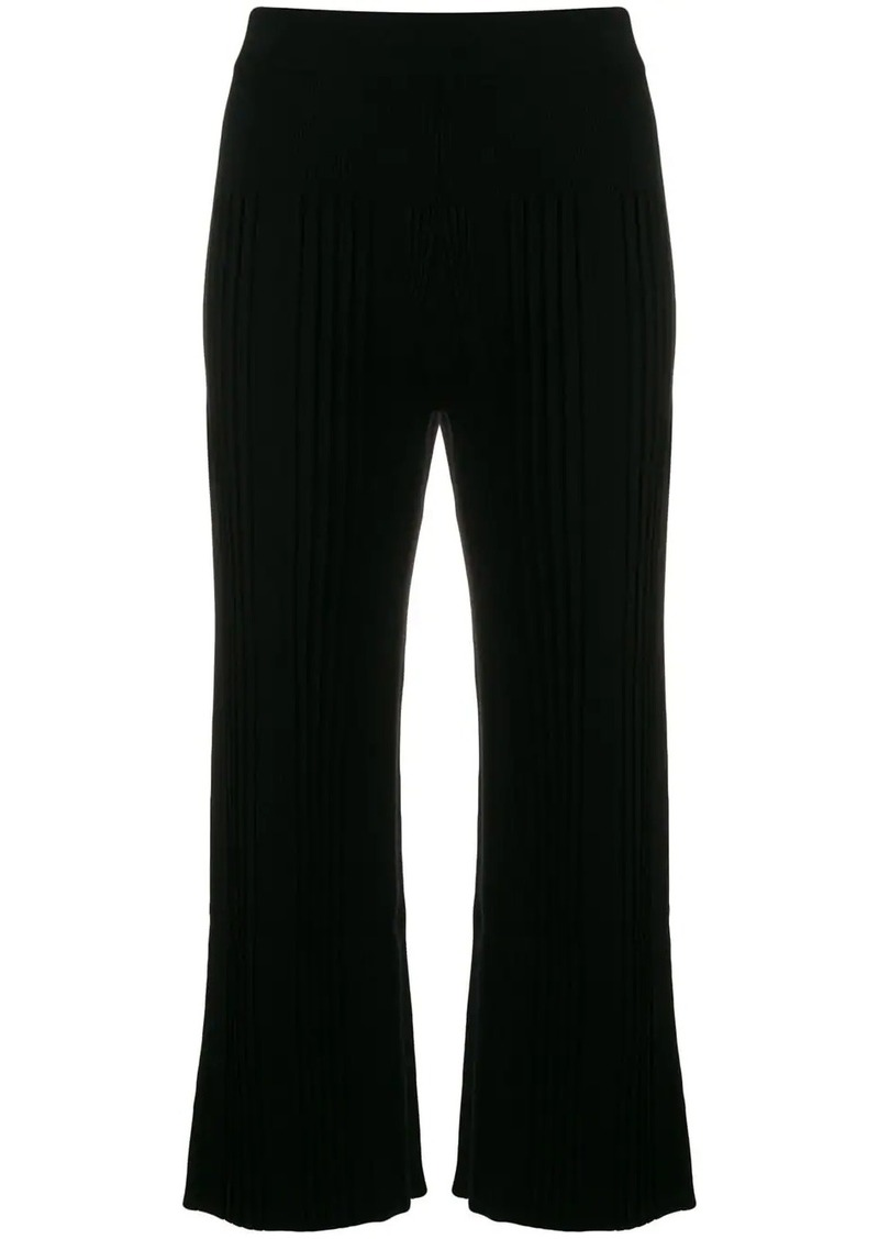 Kenzo cropped knitted trousers