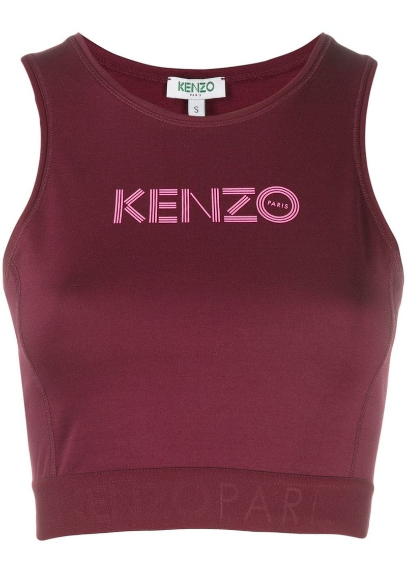 Kenzo cropped logo top