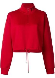Kenzo cropped logo sweater
