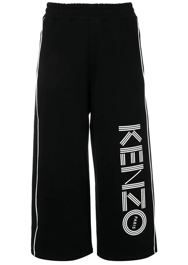Kenzo cropped track pants