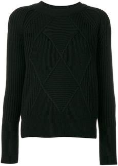 Kenzo cross knit sweater