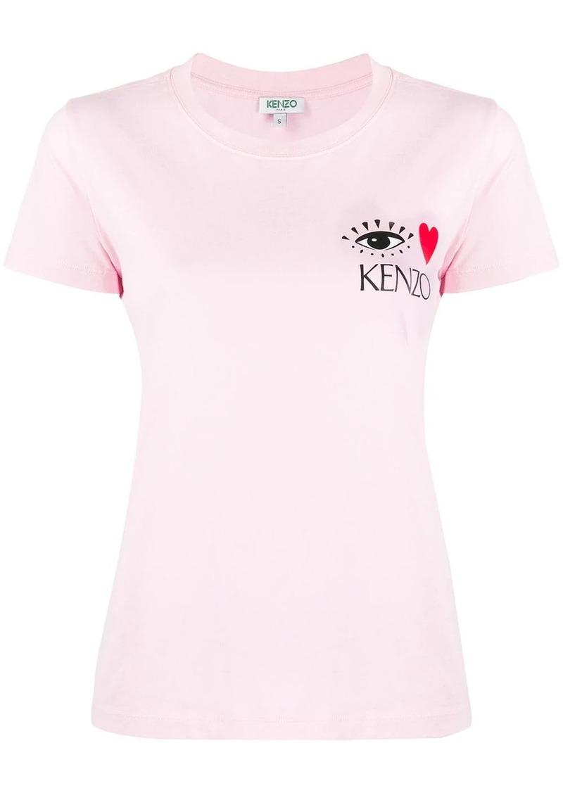 Kenzo Cupid eye motif T-shirt