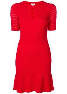 Kenzo cut-detail shift dress