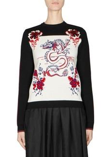 Kenzo Dragon Knit Pullover