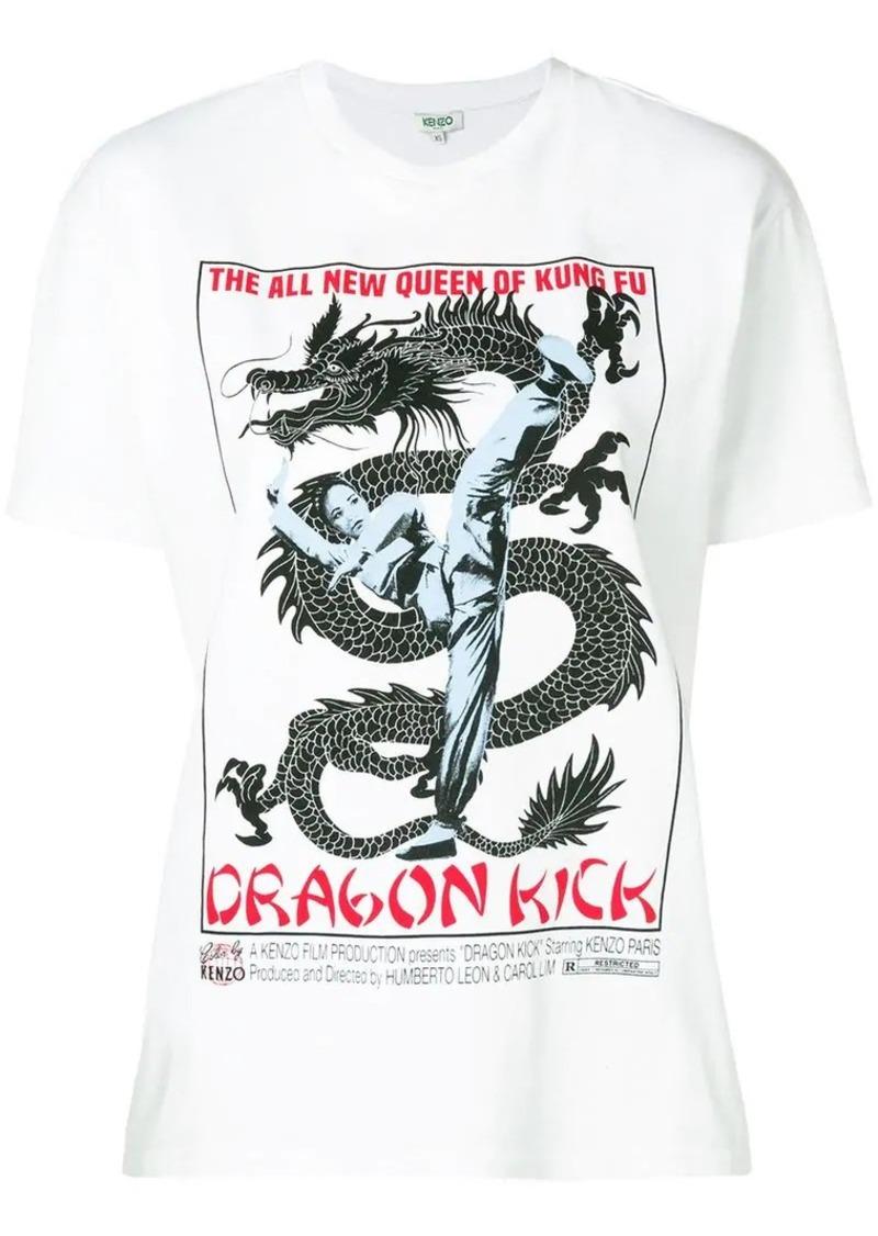 Kenzo Dragon print T-shirt