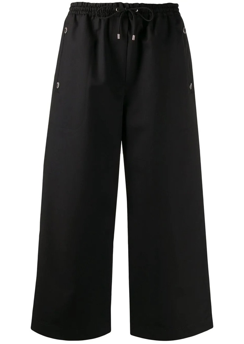 Kenzo drawstring cropped trousers