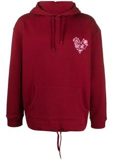 Kenzo drawstring-hem hoodie