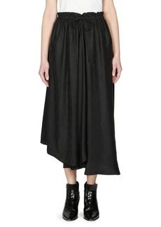 Kenzo Drawstring Midi Skirt