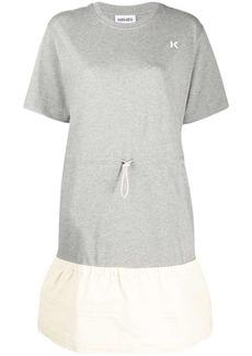 Kenzo drawstring T-shirt dress