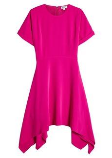 Kenzo Dress with Handkerchief Hemline