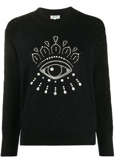 Kenzo embellished Eye jumper