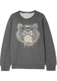 Kenzo Embellished French Cotton-terry Sweatshirt