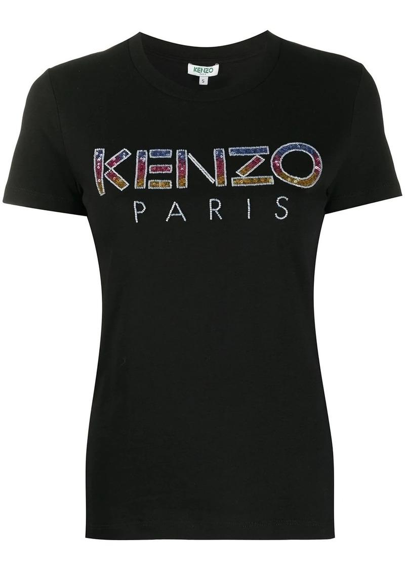 Kenzo embellished-logo T-shirt