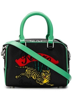 Kenzo Tiger embroidered bowling bag