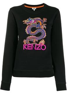 Kenzo embroidered Dragon sweatshirt