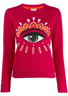 Kenzo embroidered eye sweatshirt