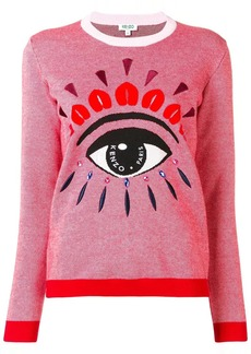 Kenzo embroidered intarsia sweater